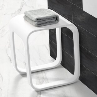 Moorhouse Bathroom Accent Stool by Orren Ellis