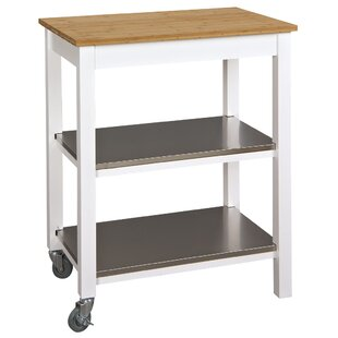 Ridenour Ultimate Kitchen Bar Cart by Breakwater Bay