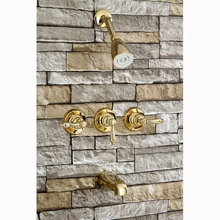 Find The Perfect Polished Brass Shower Faucets Wayfair