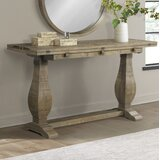 Casanovia 60 Solid Wood Console Table by Rosalind Wheeler