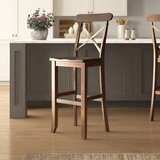 Stephan Solid Wood 30 Bar Stool by Laurel Foundry Modern Farmhouse®