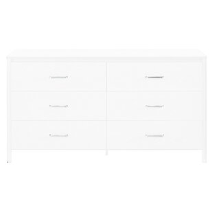 Lupe 6 Drawer Double Dresser by Zipcode Design