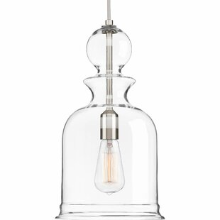 Top Reviews Brook 1-Light Foyer Pendant By Gracie Oaks