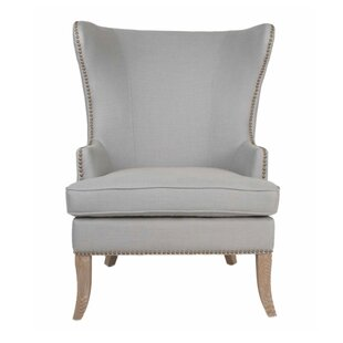 Price comparison Lesparre Wingback Chair by One Allium Way Reviews (2019) & Buyer's Guide