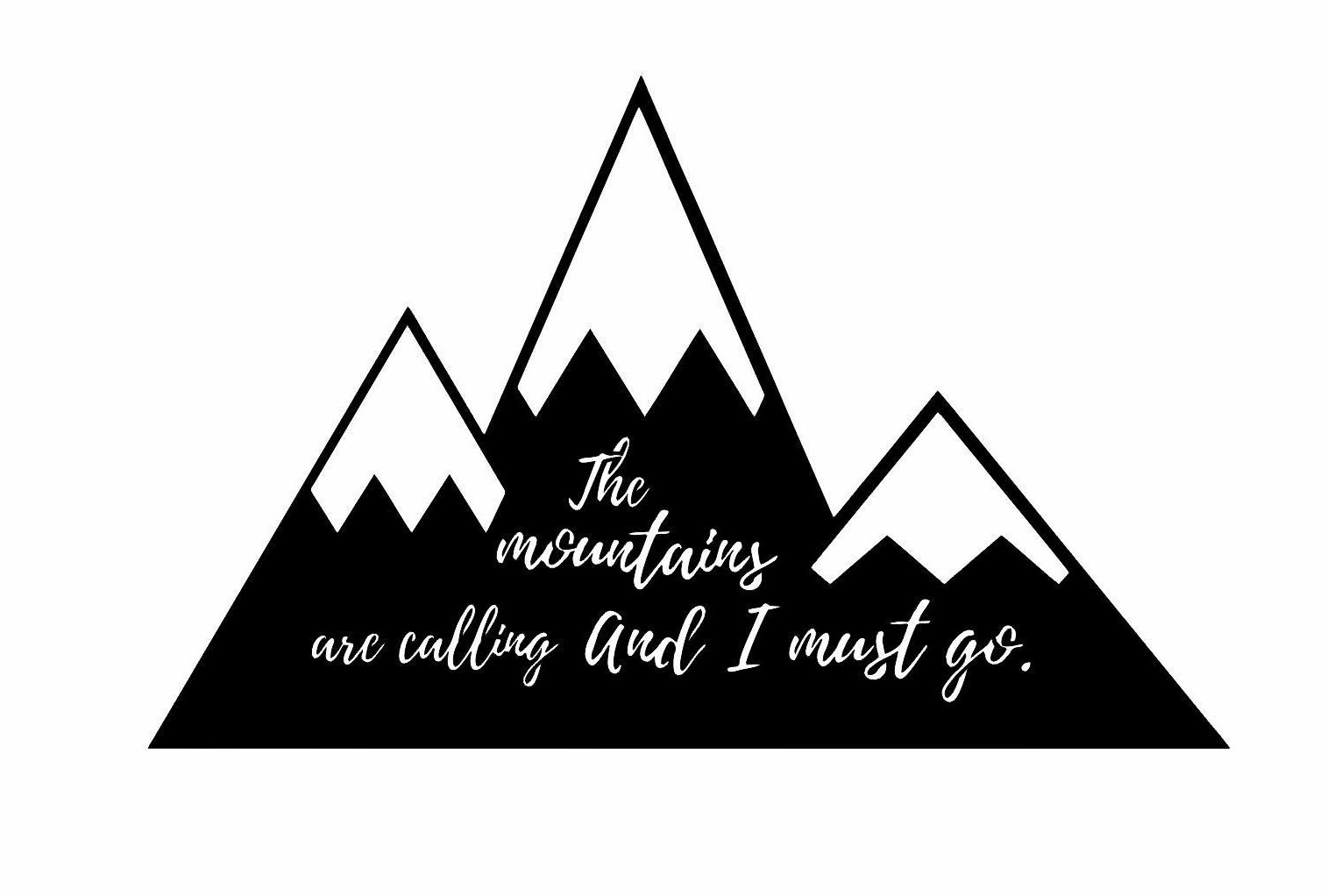 Union Rustic The Mountains Are Calling Laser Cut Steel Wall Décor Wayfair