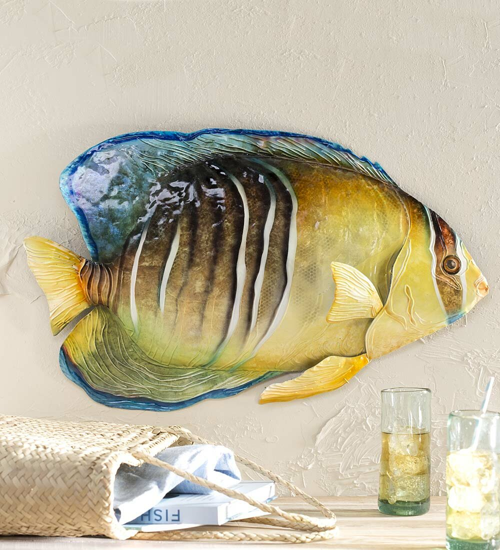 Famous Metal Fish Wall Decor Inspiration - The Wall Art Decorations ...