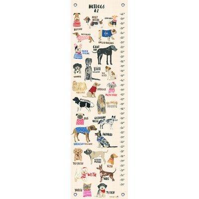 Davis Hot Dogs Canvas Growth Chart Joss Main
