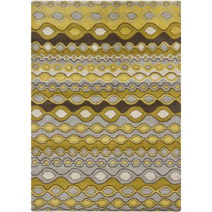 Carol Gold/Yellow Area Rug