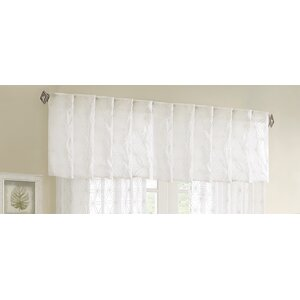 Bowman Sheer Embroidered Window Curtain Valance