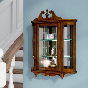 Bedingfield Wall-Mounted Curio Cabinet by..