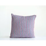 Kerney Woven Seersucker Cotton Throw Pillow