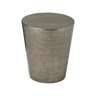 Top Izmir Hammered End Table by Studio A Home