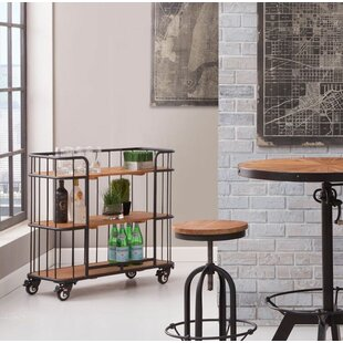 Andrew Bar Cart by 17 Stories