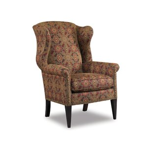 Clearance Remington Wingback Chair By Sam Moore