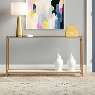 Useful EVERYDAY Console Table Side Table for Living Room and Hallway Scandinavian Design MDF Wood with PVC Film Modern Design 100 x 30 x 75 cm Day