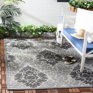 Jarrow Light Grey/Anthracite Indoor/Outdoor Area Rug