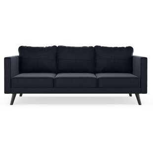 Coutu Mod Velvet Sofa by Corrigan Studio