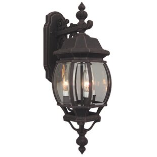 Oakhill 1-Light Metal Outdoor Wall lantern