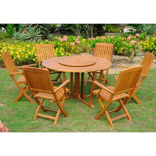 Sabbattus 8 Piece Dining Set