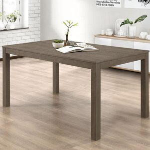 Chetna Wood Dining Table by Gracie Oaks