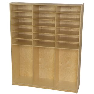 Affordable Price Contender Cubby with Bins By Wood Designs