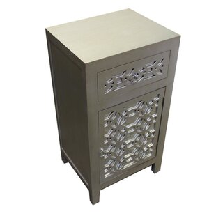 Sariya 1 Drawer Accent Cabinet by Rosdorf Park