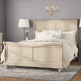 Warlick Sleigh Bed by Charlton Home®
