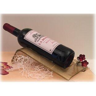 1 Bottle Tabletop Wine Bottle Rack by Classic Touch