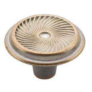 Swirl Mushroom Knob