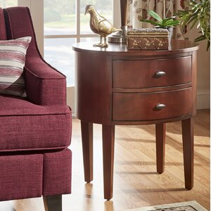 Canterbury End Table With Storage�