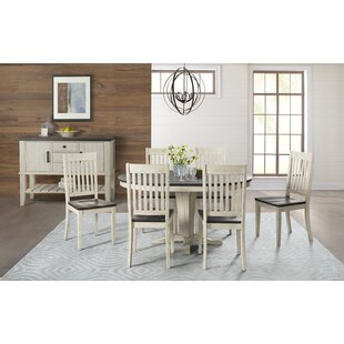 Scales 7 Piece Extendable Solid Wood Dining Set
