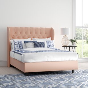 Shop For Dollman Tufted Upholstered Panel Bed by Mistana Reviews (2019) & Buyer's Guide