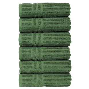 Cypress 100% Cotton Hand Towel (Set of 6)