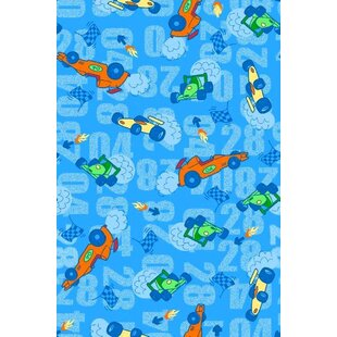 Order Race Cars Toddler Fitted Crib Sheet By Sheetworld