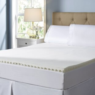 "Wayfair Sleep Textured 2"" Mattress Topper"