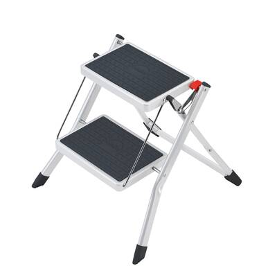 Sensational Rubbermaid 2 Step Folding Step Stool With 300 Lb Load Caraccident5 Cool Chair Designs And Ideas Caraccident5Info
