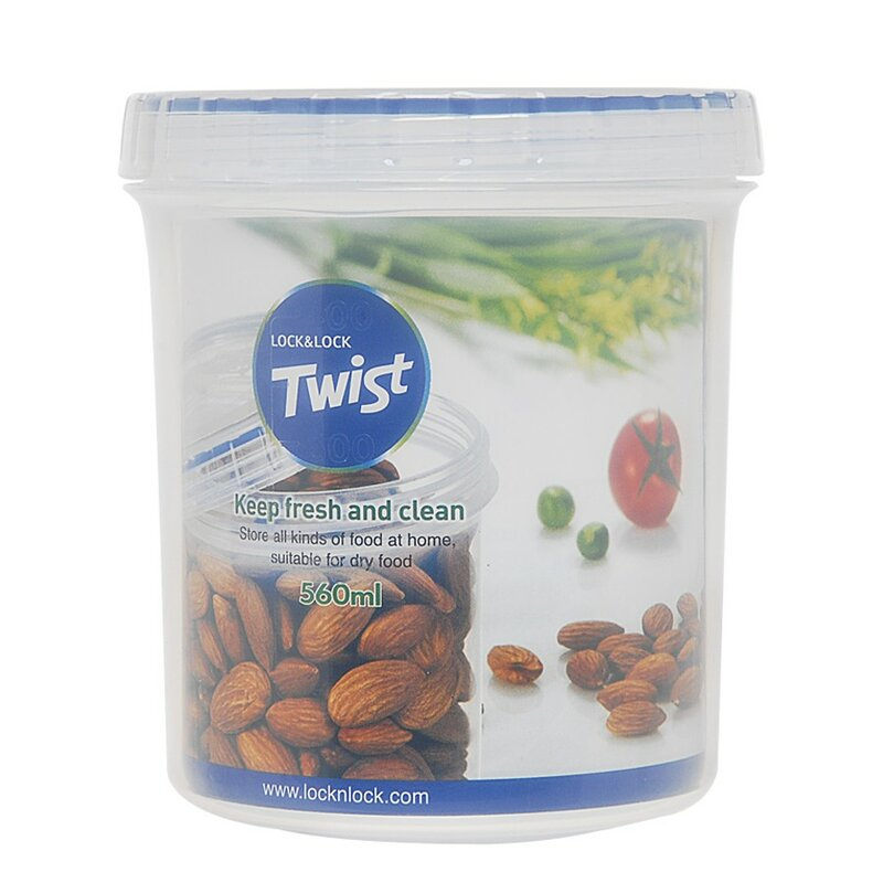 Twist Top Round 18.4 Oz. Food Storage Container