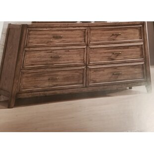 Nathen 6 Drawer Double Dresser