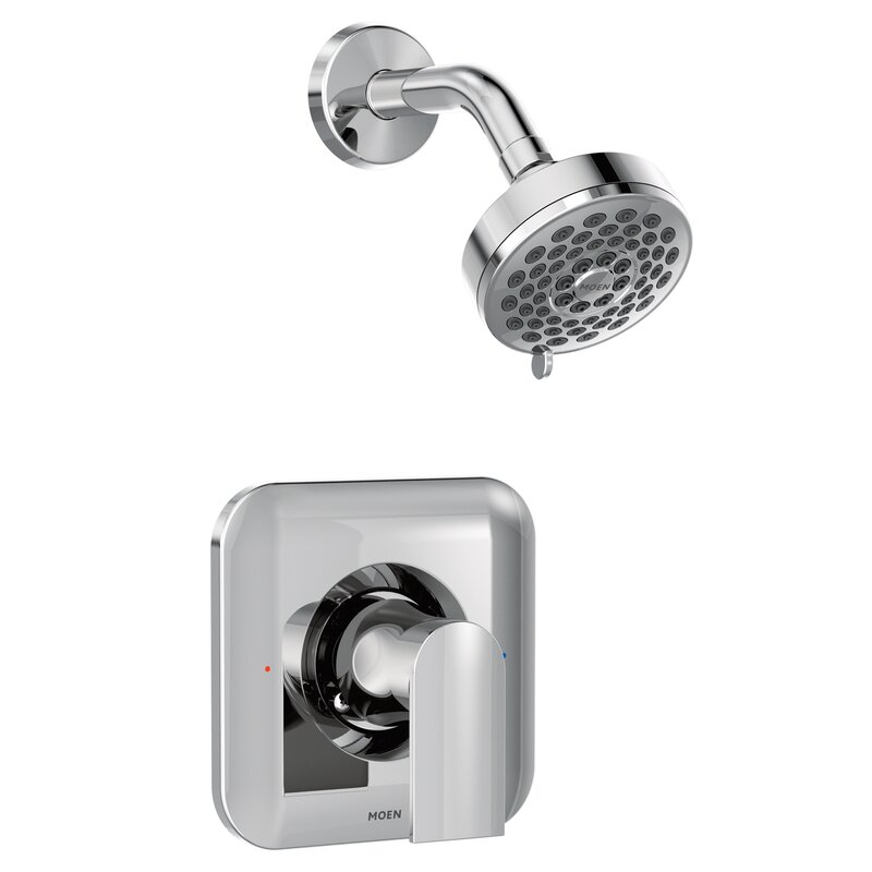 Shower Faucet.Genta Shower Faucet Lever Handle With Posi Temp
