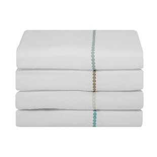 Pitts Dot Pattern 400 Thread Count Cotton Sheet Set