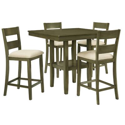 Gwyneth 5 Piece Counter Height Dining Set