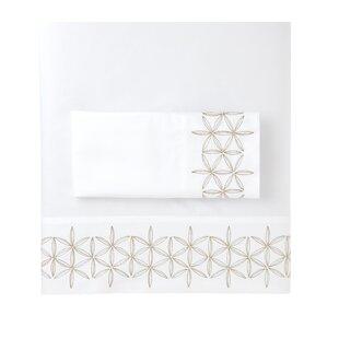 Florian 100% Cotton Sateen Pillowcase (Set of 2)