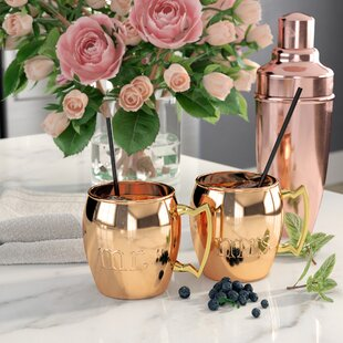 Milewski 16 Oz. Moscow Mule Mug (Set of 2)