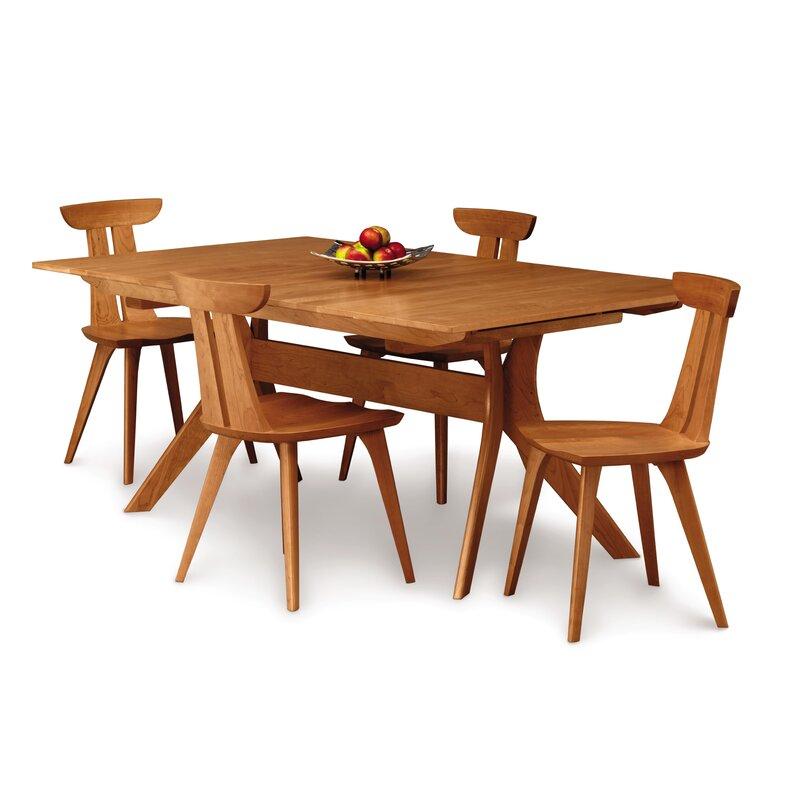 Estelle Solid Wood Slat Back Side Chair