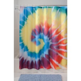 Tie Dye Shower Curtain