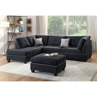 Reversible Sectional With Ottoman