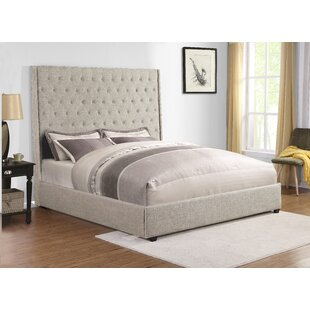 Aymie King Tufted Sleigh Bed