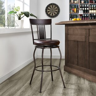 Hallsburg 30 Swivel Bar Stool Fleur De Lis Living