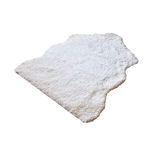 Compare Tabitha Super Soft Handmade Shag White Area Rug By Millwood Pines