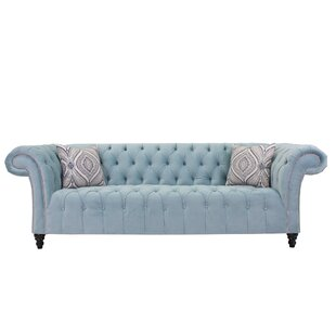 Julio Chesterfield Sofa by Rosdorf Park